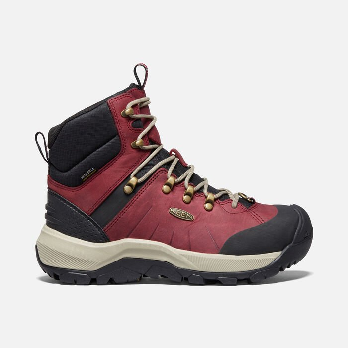 Women's Revel IV Polar Boot in Rhubarb/Plaza Taupe - large view.