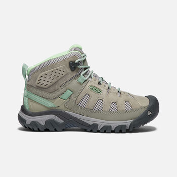 Women's TARGHEE VENT MID in FUMO/QUIET GREEN - large view.