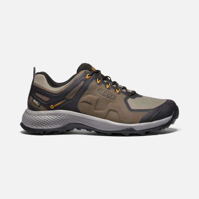 Men's Explore Waterproof Hiking Shoes in CANTEEN/BRINDLE - large view.