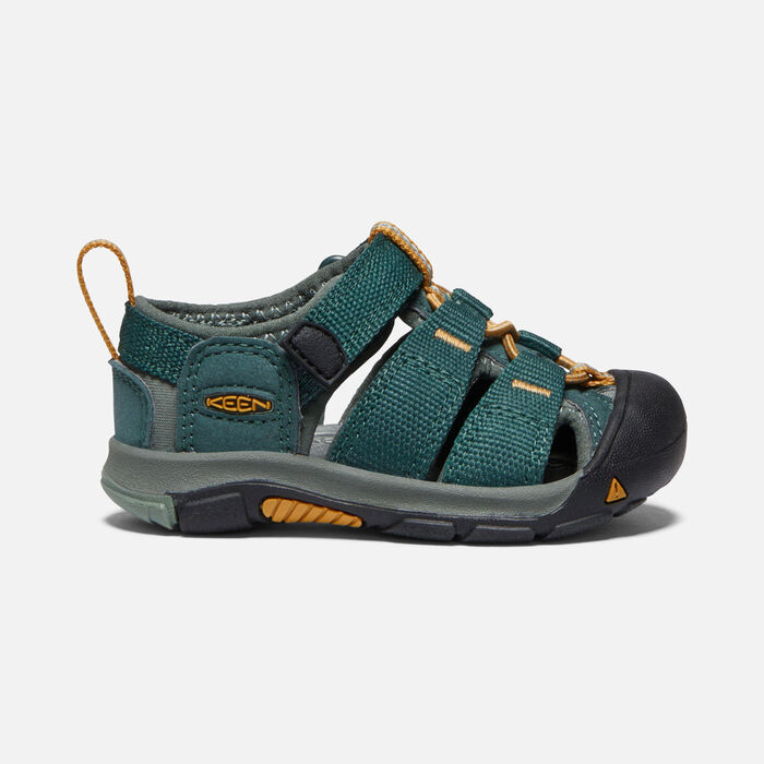 Toddlers' Newport H2 Sandals in GREEN GABLES/WOOD THRUSH - large view.