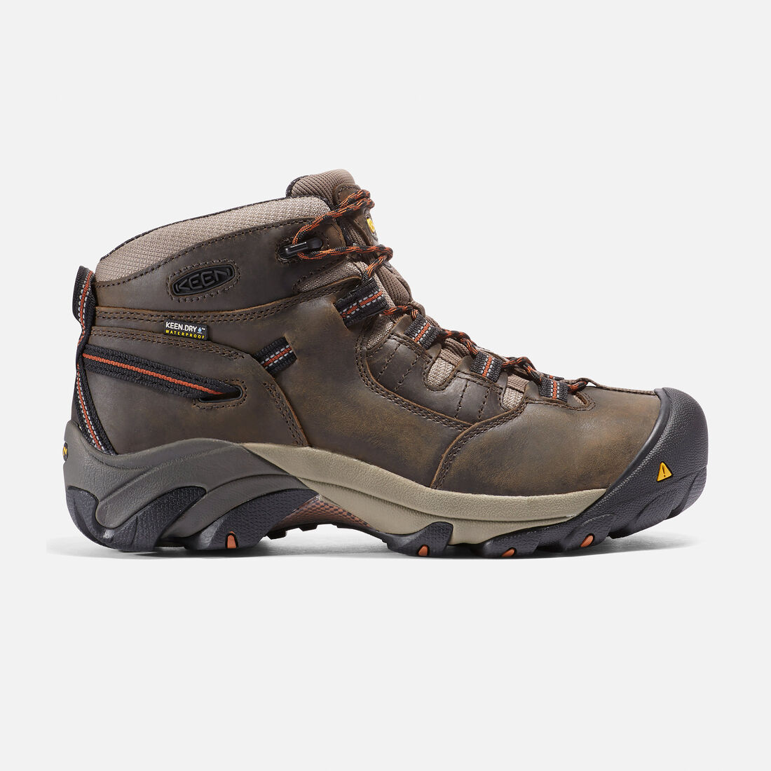 Men's Detroit Mid (Soft Toe) in Black Olive - large view.