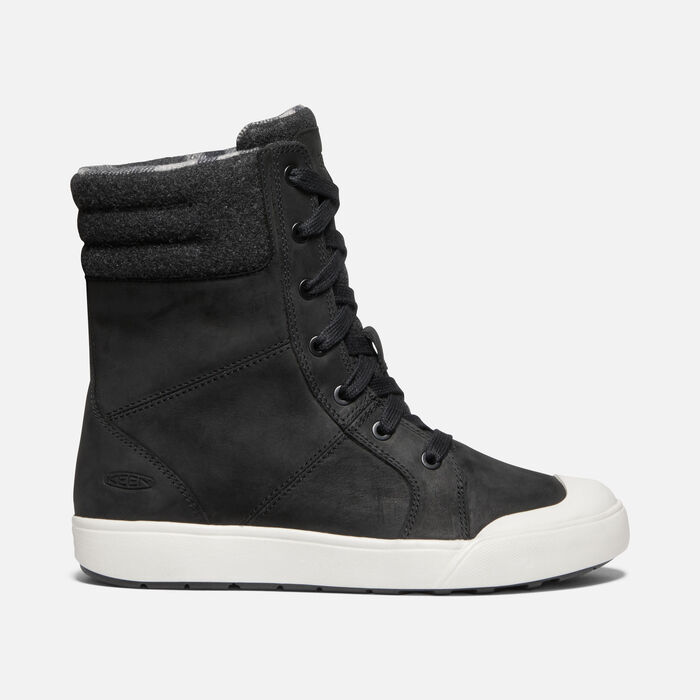 Women's Elena Boot in BLACK/SILVER BIRCH - large view.
