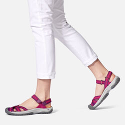 Women's Bali Strap Sandals in  - on-body view.