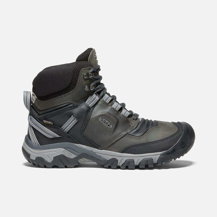 Ridge Flex Waterproof Wanderstiefel für Herren in Magnet/Black - large view.