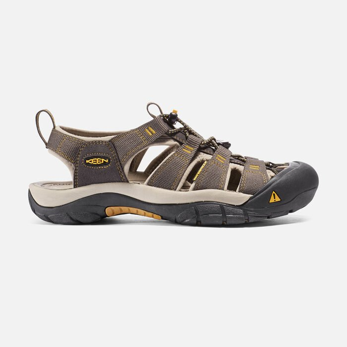 Men's Newport H2 Sandals in RAVEN/ALUMINUM - large view.