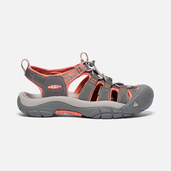 WOMEN'S NEWPORT HYDRO SANDALS in MAGNET/CORAL - large view.