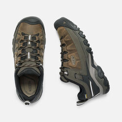 Men's TARGHEE III Waterproof Wide in BUNGEE CORD/BLACK - small view.