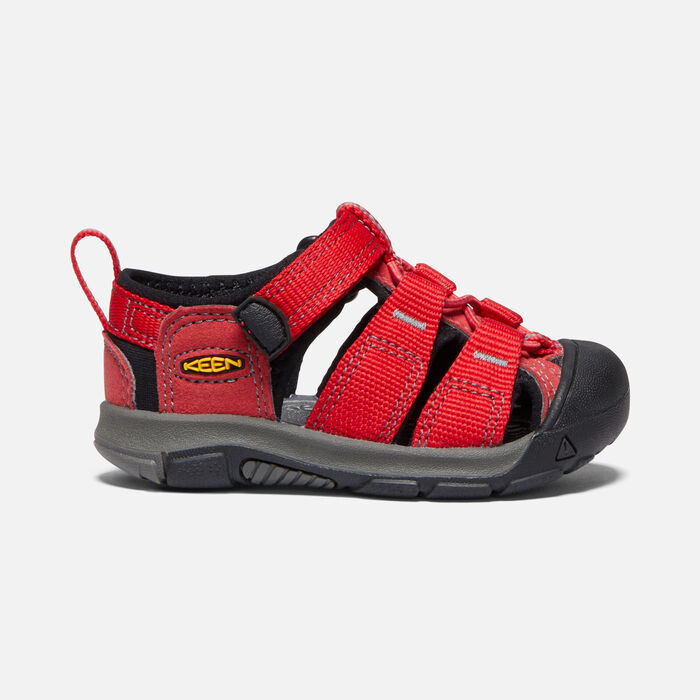 Toddlers' Newport H2 Sandals in RIBBON RED/GARGOYLE - large view.