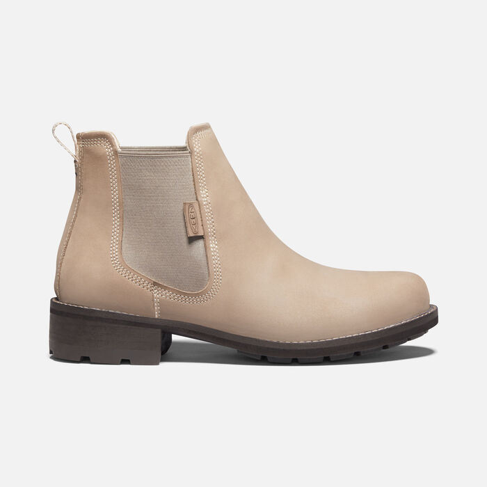 Women's Oregon City Chelsea Casual Boots in Gaucho/Toasted Coconut - large view.