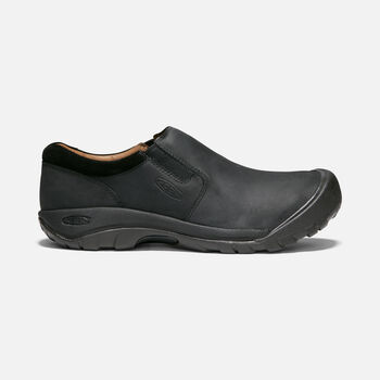 Austin Casual Slip-On Pour Homme in BLACK/RAVEN - large view.