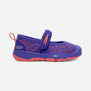 Toddler'S Moxie Mary Jane, Flat Casual Shoes in ROYAL BLUE/FUSION CORAL - large view.