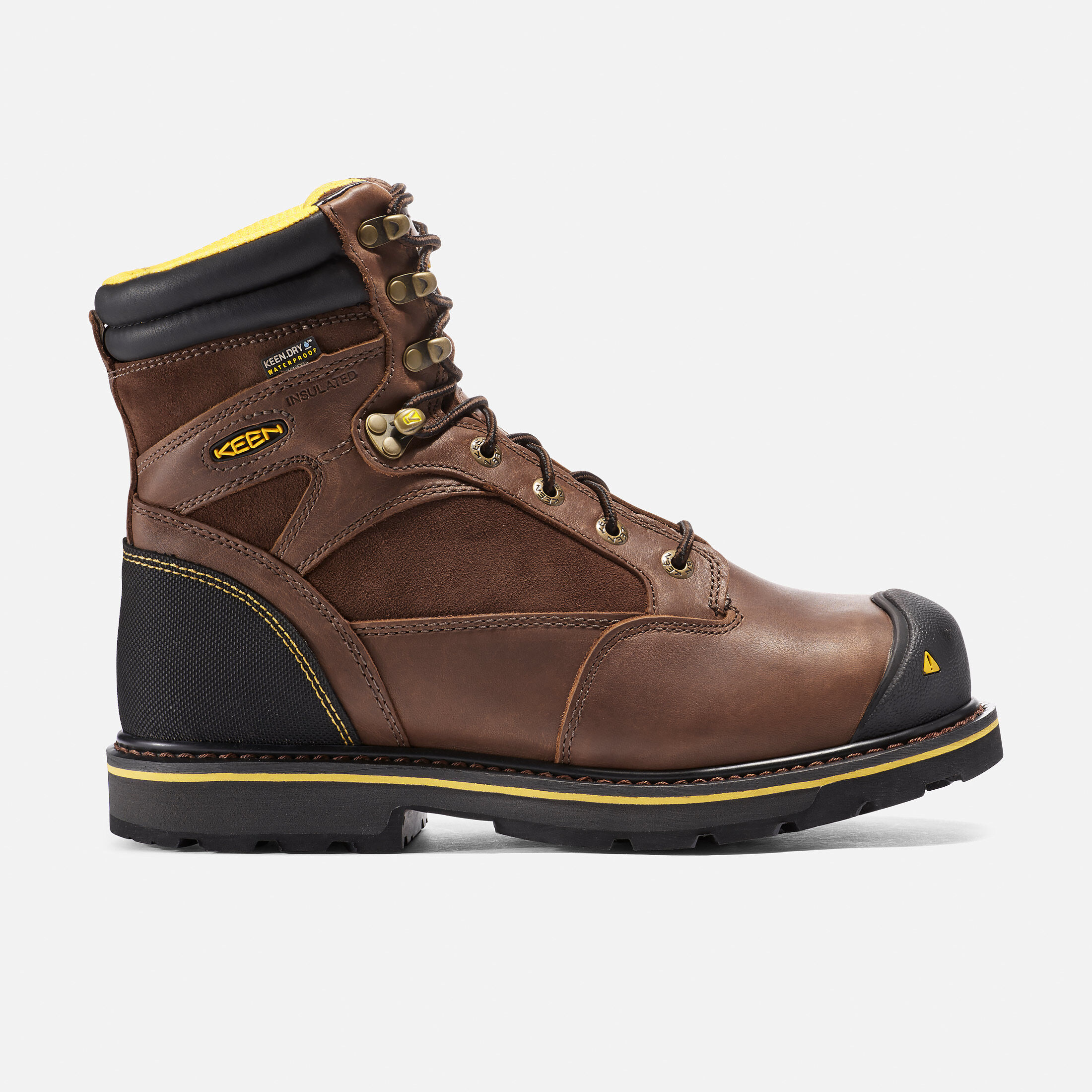 Men's Sheridan Insulated Waterproof Boot (Composite Toe) in Cascade Brown -  large view.