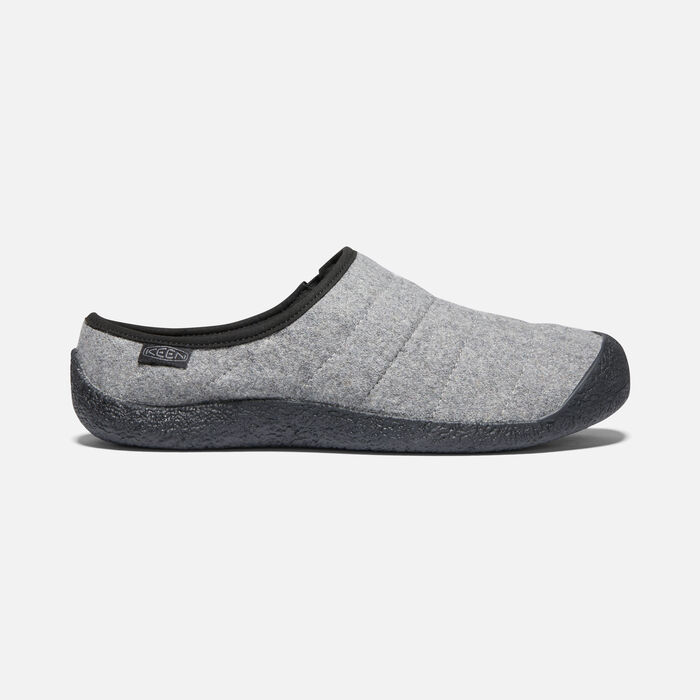 Men's Howser Slide in Grey Felt - large view.