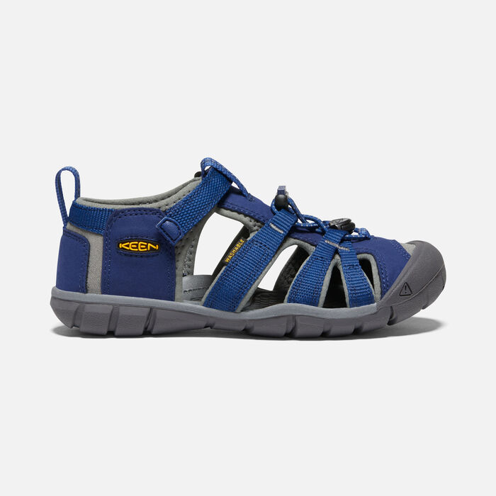 Older Kids' Seacamp II Cnx Sandals in BLUE DEPTHS/GARGOYLE - large view.
