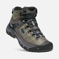 Men's TARGHEE III Waterproof Mid in STEEL GREY/CAPTAIN'S BLUE - small view.