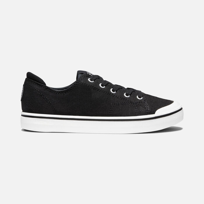 Women's Elsa IV Sneaker in Black/Star White - large view.