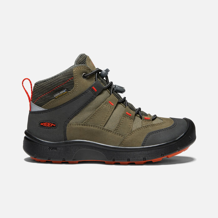 KEEN Unisex-Child HIKEPORT MID WP Hiking Boot