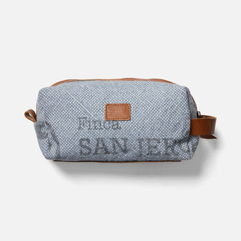 Harvest Coffee Dopp Kit in GREY - large view.