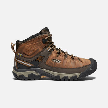 MEN'S TARGHEE III WATERPROOF HIKING BOOTS in BIG BEN/GOLDEN BROWN - large view.