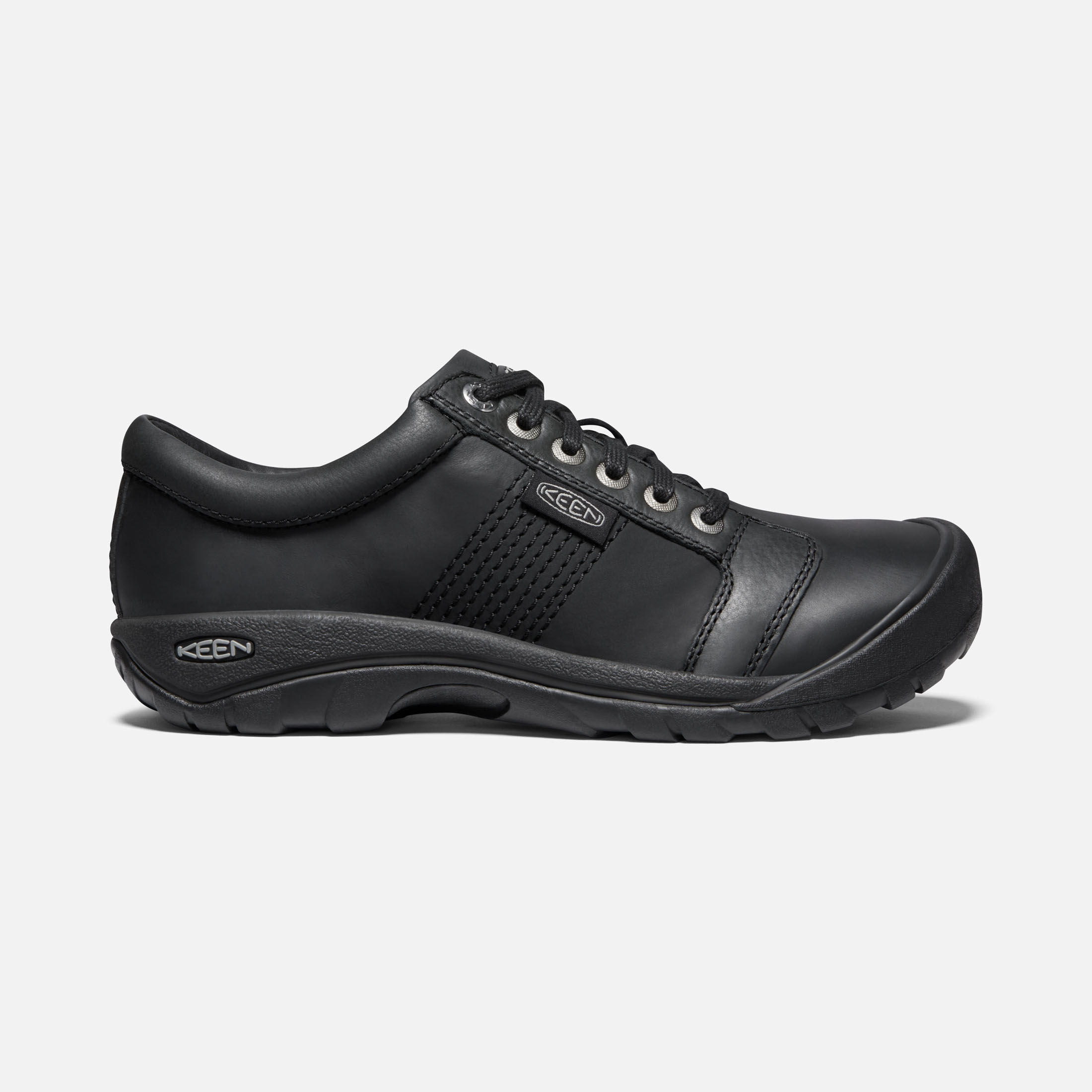 Austin - Casual Leather Lace-Up Shoes