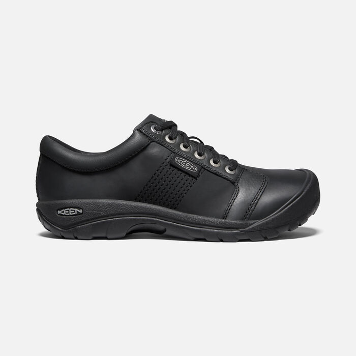 Men's Austin Casual Shoes in Black - large view.