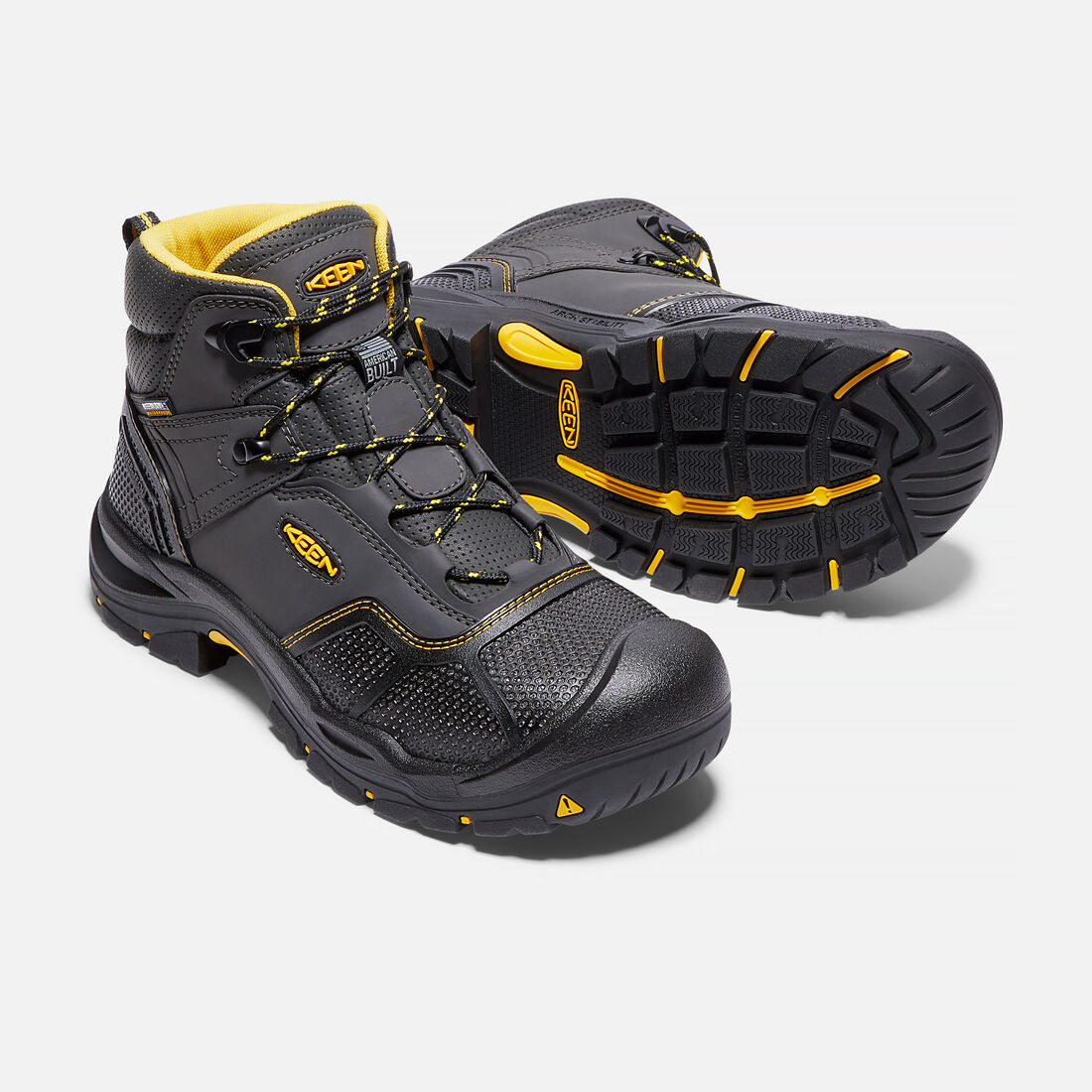 Men's LOGANDALE Waterproof Boot (Steel Toe)
