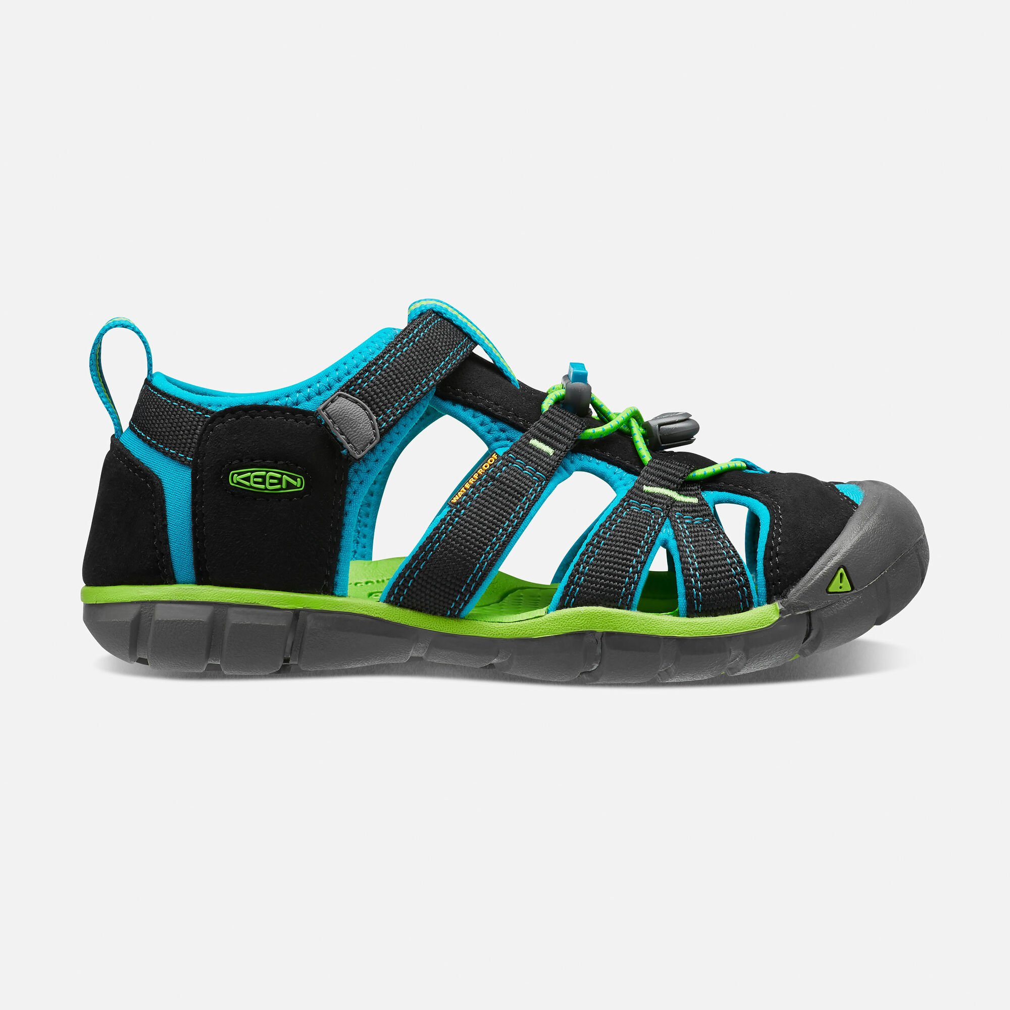 6164bfd01e4d9 ... Children s Shoes  Big Kids SEACAMP II CNX in BLACK BLUE DANUBE - small  view. to buy c1878 ...