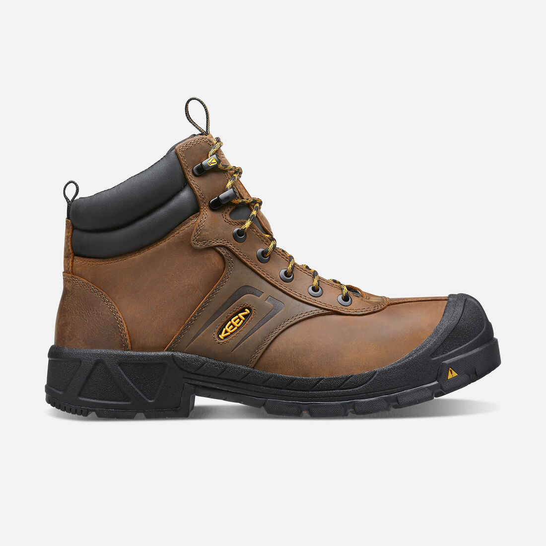 Men's Warren ESD Boot (Steel Toe) in Dark Earth - large view.