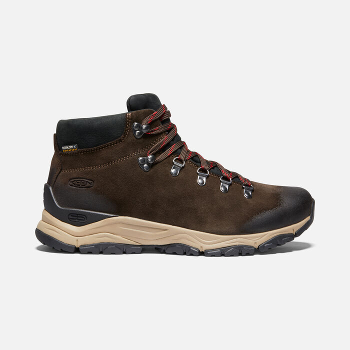 Men's Feldberg Apx Waterproof Hiking Boots in EBONY/BROWN - large view.