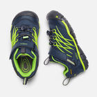 Younger Kids' Chandler Cnx Waterproof Trainers in Dress Blues/Greenery - small view.