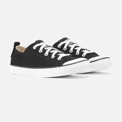 ELSA SNEAKER pour femme in Black/Star White - small view.