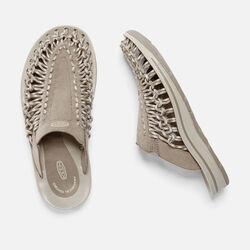 Women's UNEEK SLIDE in Brindle/Feather Gray - small view.