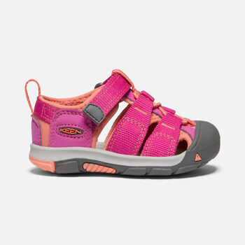 Toddlers' Newport H2 Sandals in VERY BERRY/FUSION CORAL - large view.