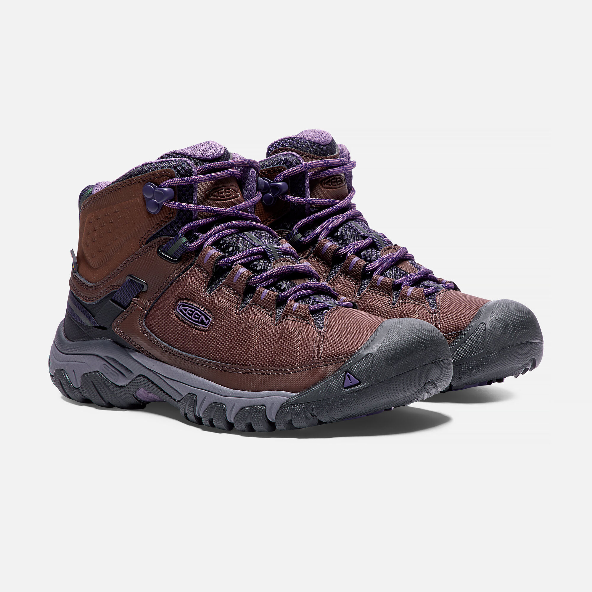 5801a170e11f Women s TARGHEE EXP Waterproof Mid in French Roast Purple Plumeria - small  view.