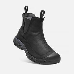 Men's ANCHORAGE III Waterproof Boot in Black/Raven - small view.