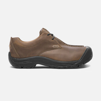 Men's Boston III Casual Shoes in Cascade Brown - large view.