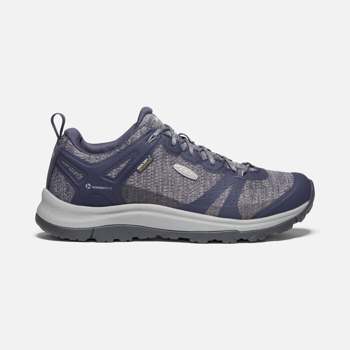 TERRADORA II WP SHOE POUR FEMME in Graystone/Shark - large view.