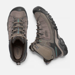 MEN'S TARGHEE EXP WATERPROOF  WIDE FIT HIKING BOOTS in Bungee Cord/Brindle - small view.