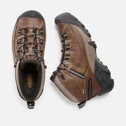 MEN'S TARGHEE II WATERPROOF  MID HIKING BOOTS in Shitake/Brindle - small view.
