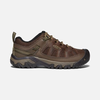 Men's Targhee Vent Hiking Shoes in CUBAN/ANTIQUE BRONZE - large view.