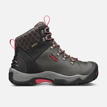 Women's Revel III Hiking Boots in Black/Rose - large view.