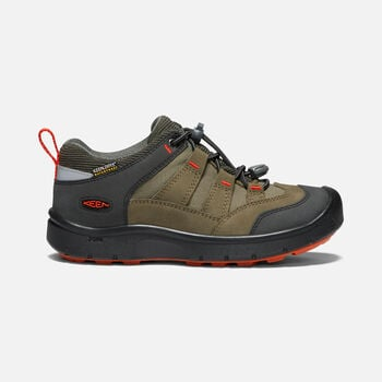Big Kids' HIKEPORT Waterproof in MARTINI OLIVE/PUREED PUMPKIN - large view.