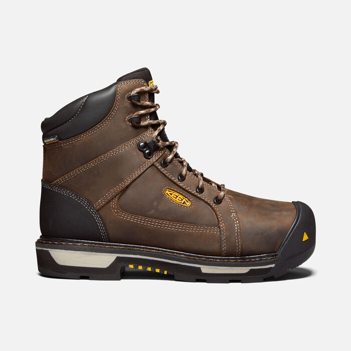 "Men's CSA Oakland 6"" Waterproof Boot (Carbon-Fibre Toe) in BISON/BLACK - large view."