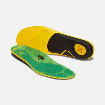 Men's Outdoor K-30 Low Arch Insoles in GREEN - large view.