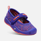 Toddler'S Moxie Mary Jane, Flat Casual Shoes in ROYAL BLUE/FUSION CORAL - small view.