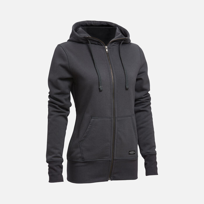 Women's Classic Hoodie in BLACK - large view.