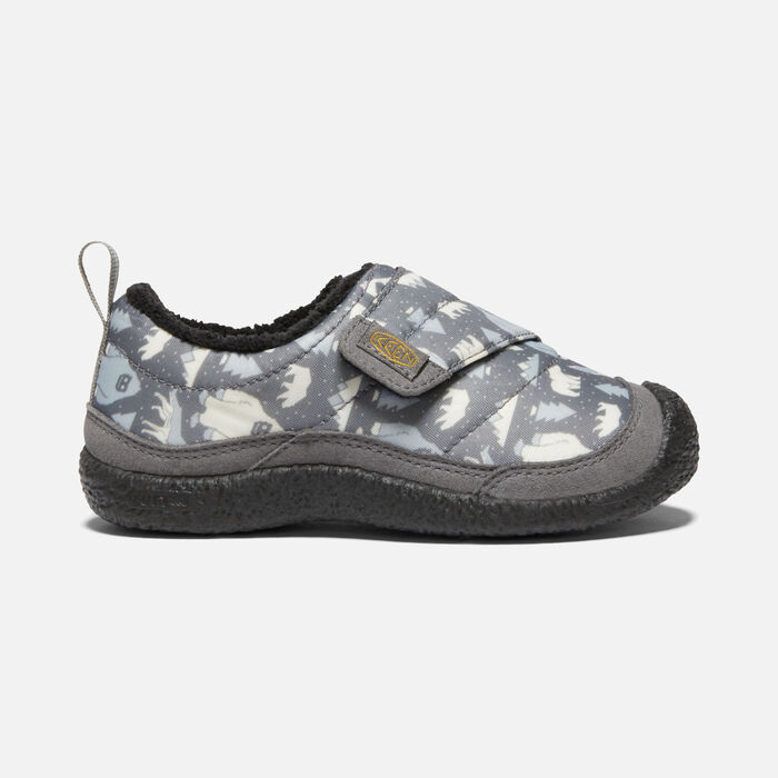 Younger Kids' Howser Wrap in Steel Grey/Star White - large view.