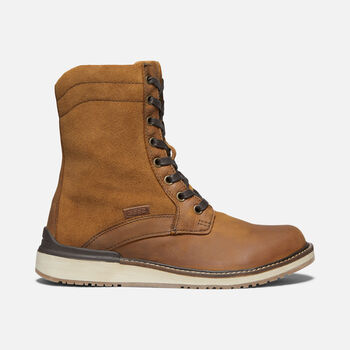 WOMEN'S BAILEY LACE CASUAL BOOTS in COGNAC - large view.