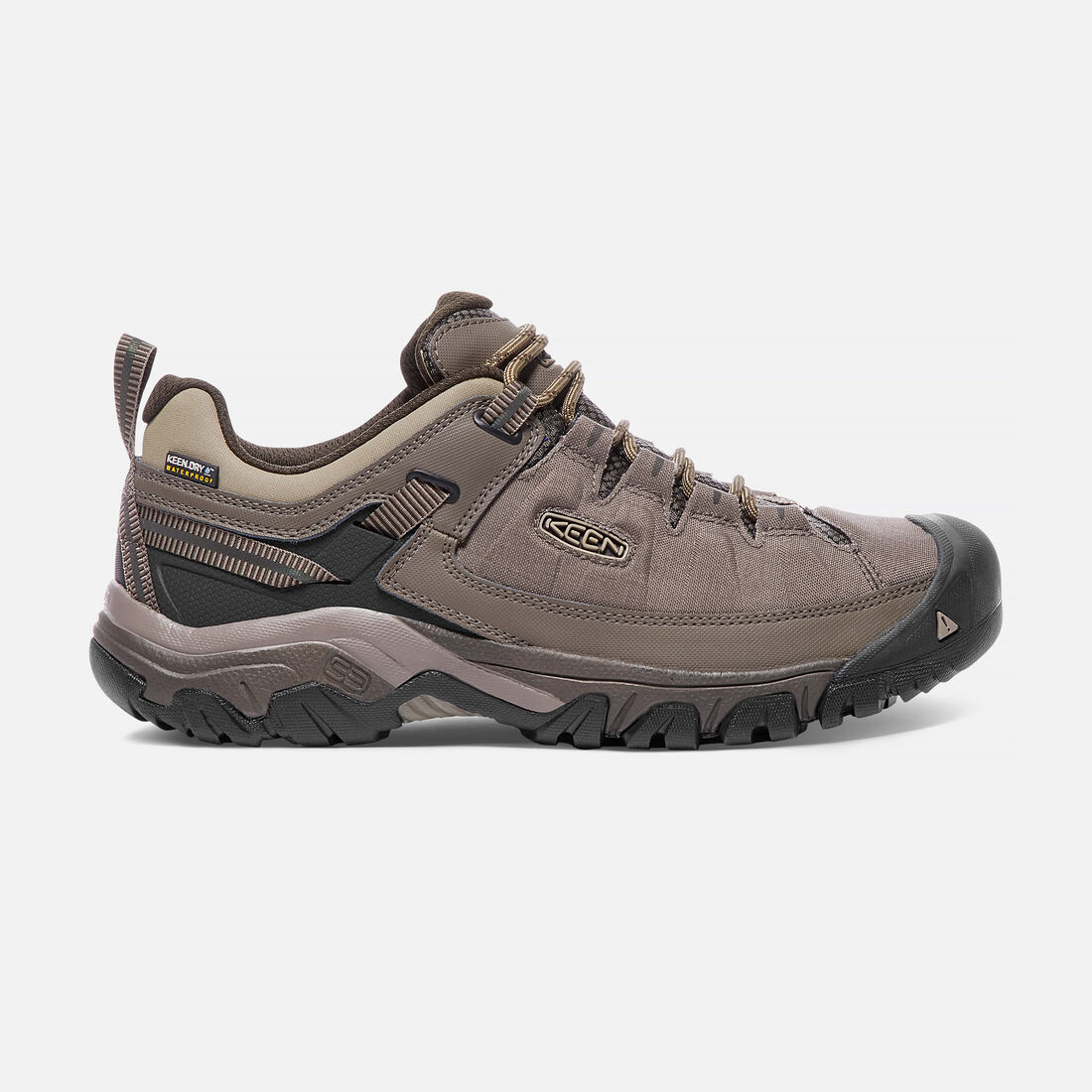 MEN'S TARGHEE EXP WATERPROOF HIKING SHOES in Bungee Cord/Brindle - large view.