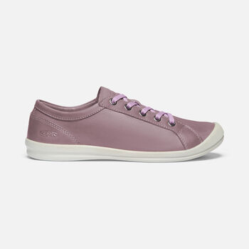Women's LORELAI SNEAKER in ELDERBERRY - large view.